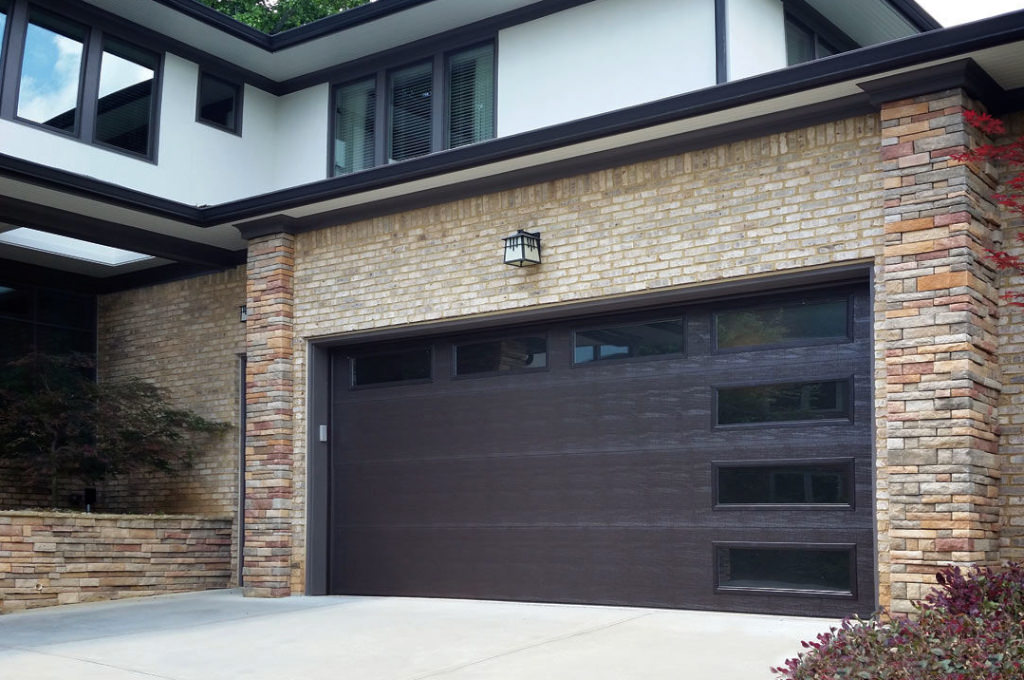 modern garage doors dallas