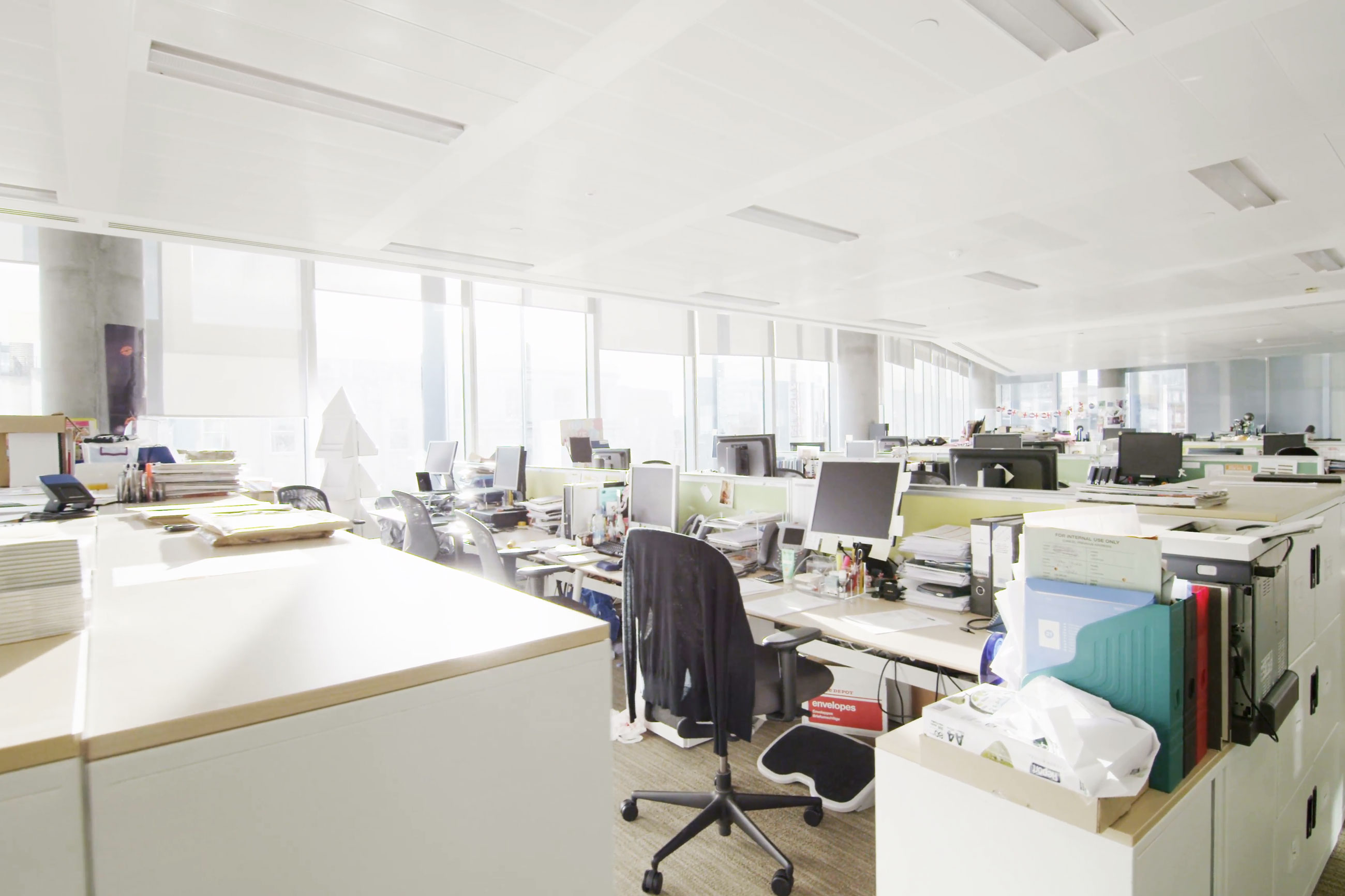 Over-Lighting in Commercial Buildings